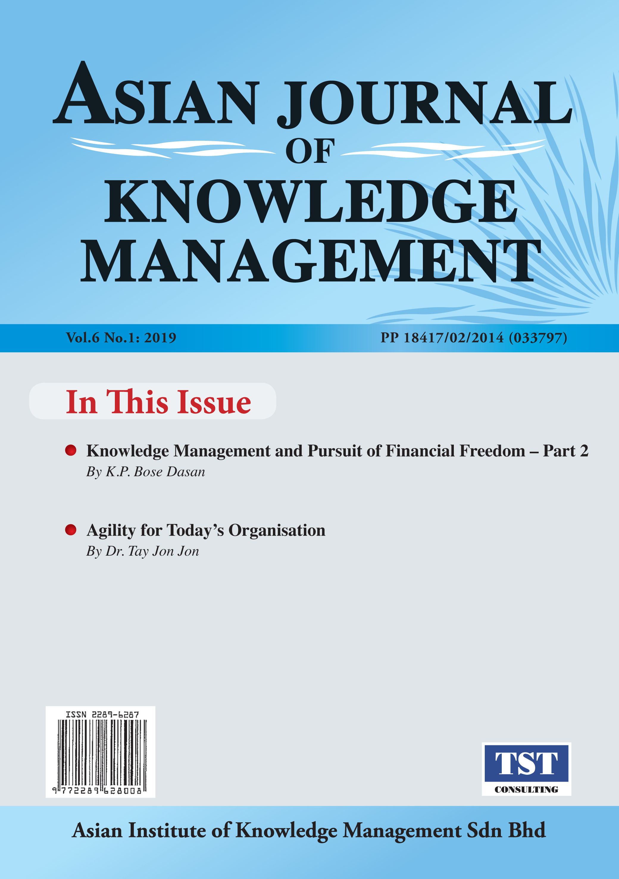 Asian Journal of Knowledge Management